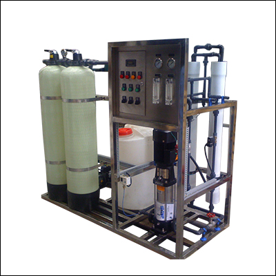 Automatic boiler soft water treatment equipment